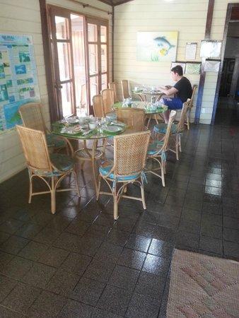 Pousada Agulhao : Sala de café - sinta-se em casa
