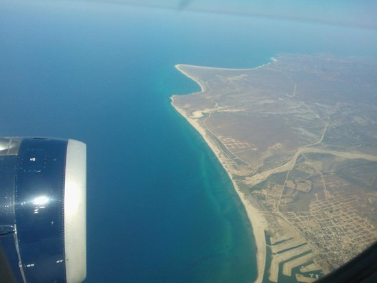 Hilton Los Cabos Beach & Golf Resort : somewhere over Mexico