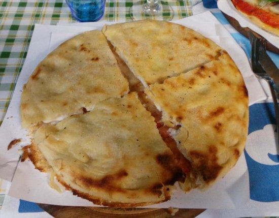 Pizzeria Gran Varignano: La focaccina di Gombitelli