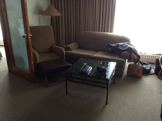 Best Western Jasper Inn & Suites: small lounge area