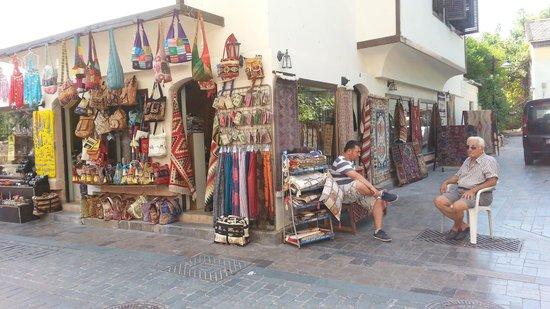 Kaleiçi'' Old Town Shops - Picture of Minyon Boutique Hotel ...