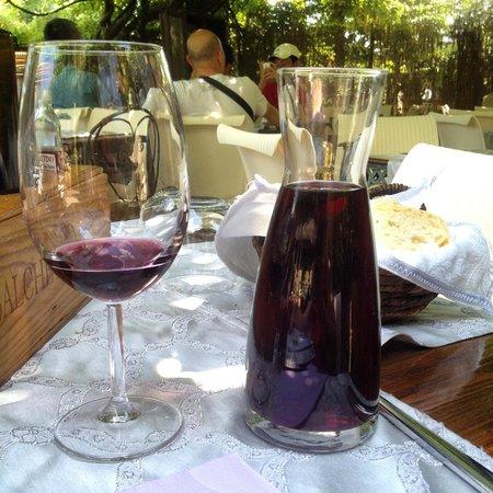 Trattoria Osenna : Вино