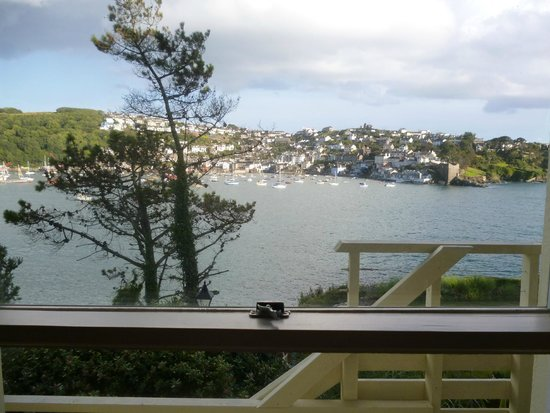 The Fowey Hotel: View from room.