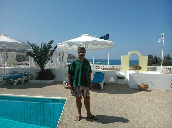 Marcos Beach Hotel: near to the swimming pool