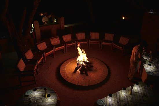 Ekuthuleni Lodge: Boma