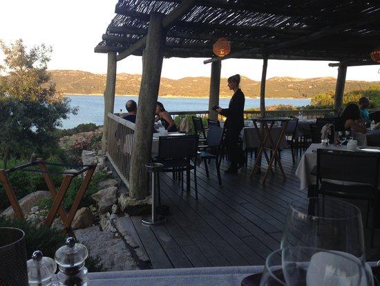 Hotel U Capu Biancu: la vue