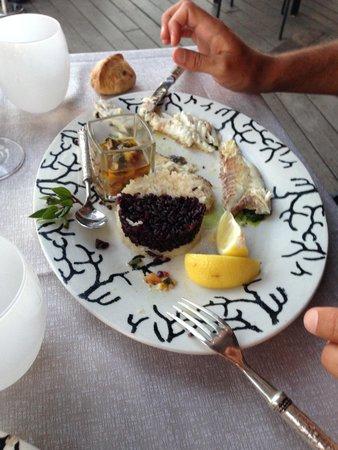 Hotel U Capu Biancu: la pêche du jour