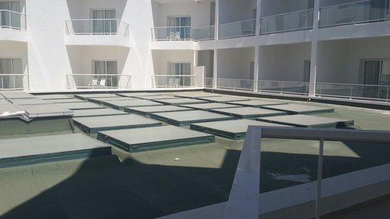 Hotel Farah Tanger : Vue d une chambre deluxe hôtel farah tanger