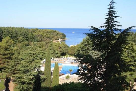 Valamar Diamant Hotel: View from room 612