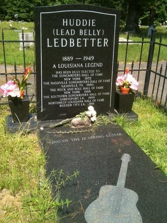 Huddie William Lead Belly Ledbetter's Grave