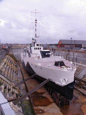 Portsmouth Historic Dockyard: WW1 ship