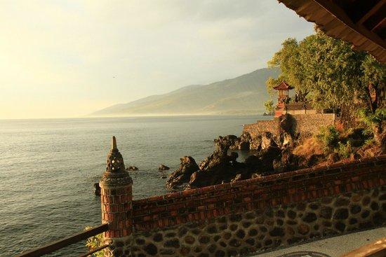 Batu Belah: Vue de la terrasse du restaurant