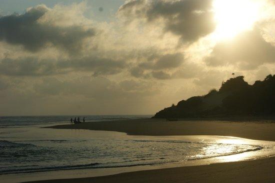 Casa Barry Lodge : het strand smorgens vroeg
