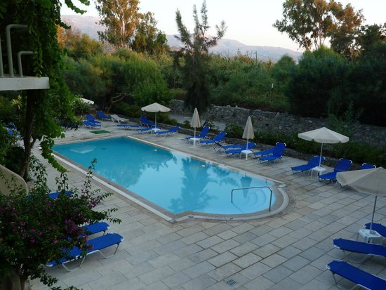 Sitia Beach City Resort & Spa : Petite piscine
