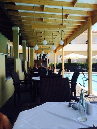 Agrilia Hotel: Restaurant - lovely food