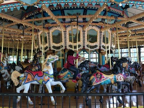 Woodland Park Zoo : Solar carousel
