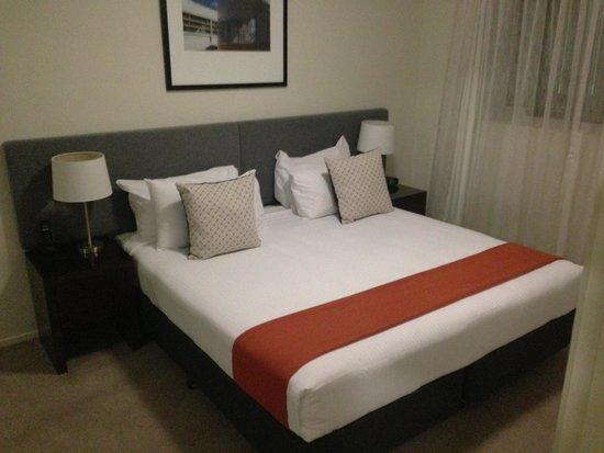 Quest Breakfast Creek Serviced Apartments: Comfy Beds!!!