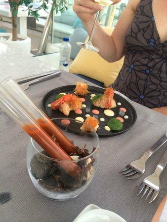 Mylos Bar Restaurant: Three way shrimp