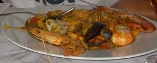 Restaurante La Palmera : paella2