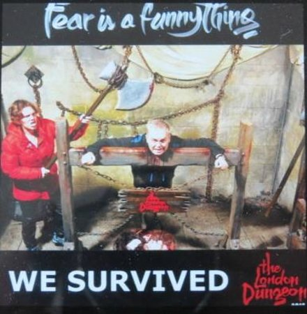 The London Dungeon : Entry Photo Op