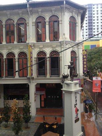 Santa Grand Hotel Lai Chun Yuen: View from corner room