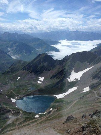 Lac d'Oncet, pic du midi