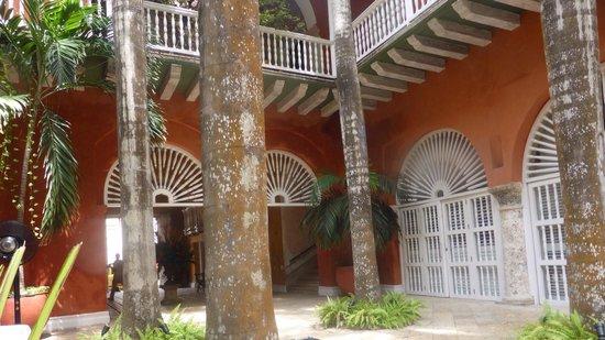 Casa Pestagua Hotel Boutique, Spa : Patio
