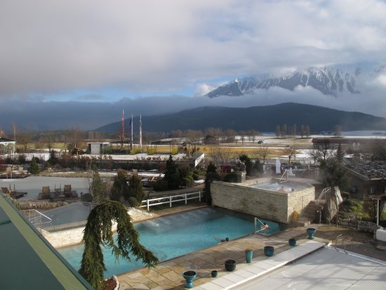 Alpenresort Schwarz: une autre piscine et le bain à remous