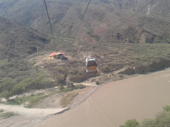 Parque Nacional de Chicamocha: Vista Teleferico