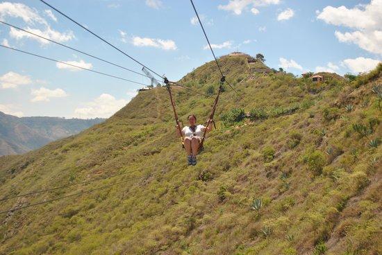 Parque Nacional de Chicamocha: Cablevuelo
