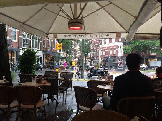 Brasserie de Joffers : Joffers in de regen....