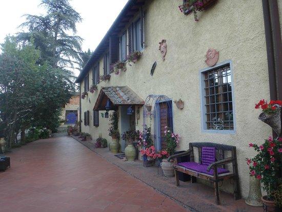 Villa Poggio di Gaville: Villa