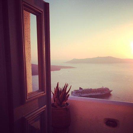 Aigialos Hotel : sunset