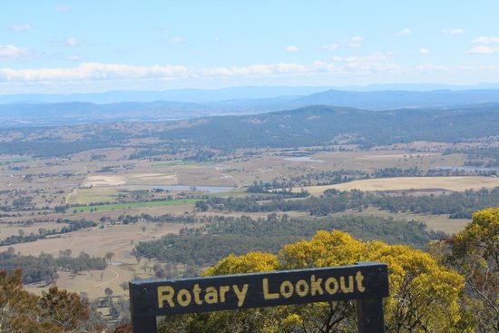 View from Rotary Point - Picture of Windswept and