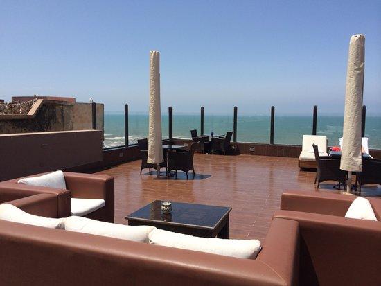 Riad Mimouna: La terrasse