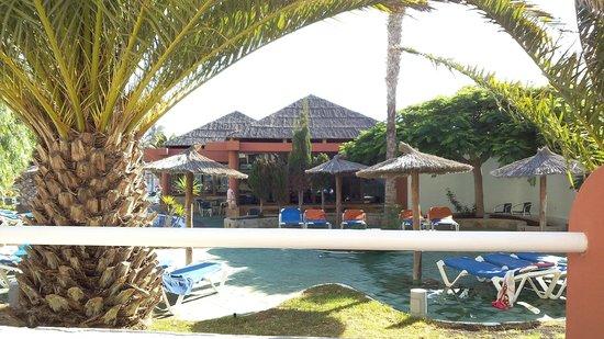 Labranda Golden Beach: vue chambre depuis terrasse
