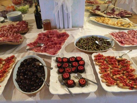 Hotel Micalosu: Antipasto Sardo