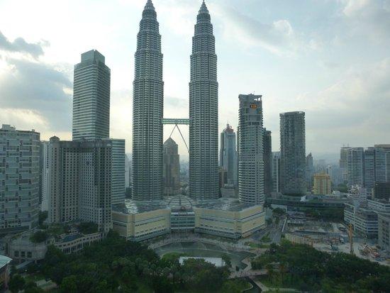 Traders Hotel, Kuala Lumpur : Ausblick Zimmer