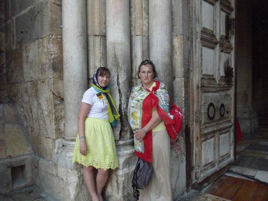 Church of the Holy Sepulchre: вход в Храм
