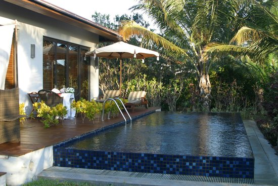 The Residence Zanzibar: Vue de la piscine privée