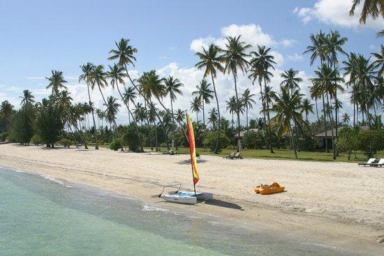 The Residence Zanzibar: Vue de la plage (côté activité nautique)