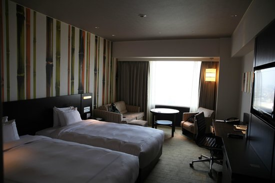 Swissotel Nankai Osaka : the room