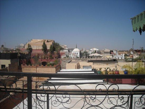 Riad Numero 10: foto sui tetti della città