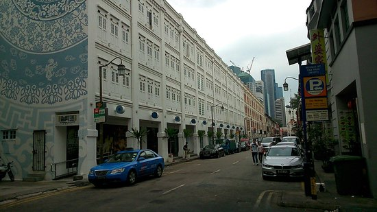 The Porcelain Hotel : Porcelain Hotel in Singapore. Rooms are small but it's a great location