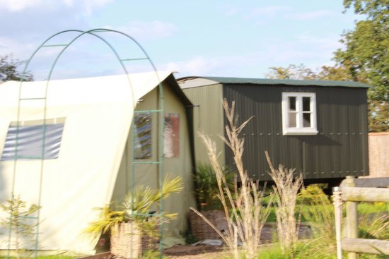 Dorset Country Holidays Glamping: another glamping unit