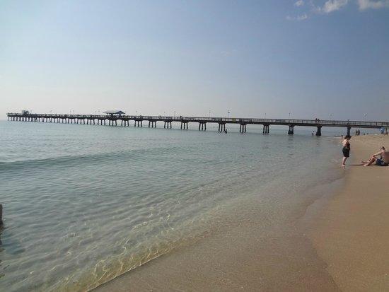 Breakaway Inn: Пляж