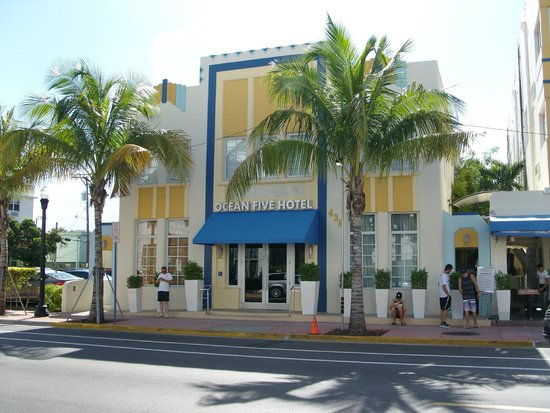 Ocean Five Hotel: Außenansicht Hauptgebäude