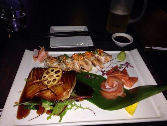 Shiro Izakaya: Salmon GTR.  Do it.