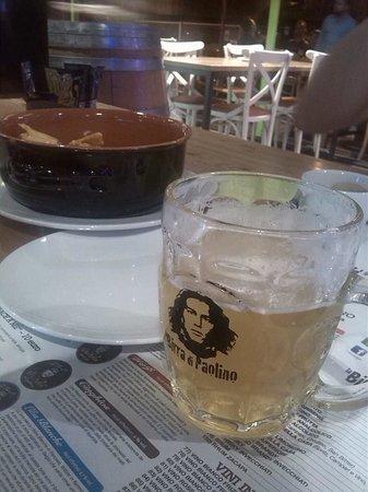 La Birra di Paolino: birra e Nachos