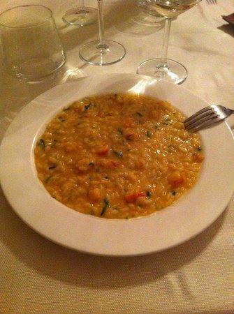 Osteria Bastia 9: risotto gamberi e zucchine
